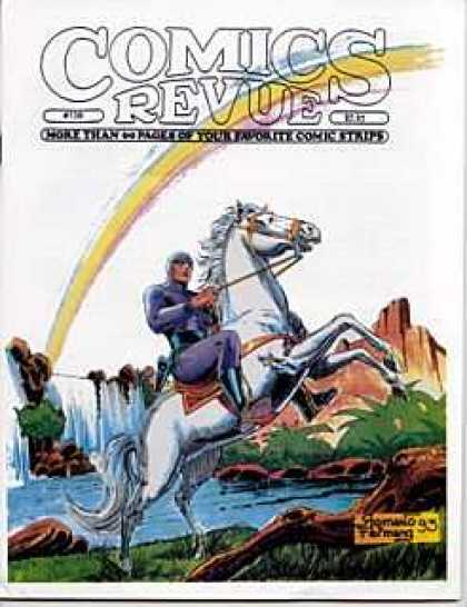 Comics Revue 138 - Rainbow - White Horse - Waterfall - Mountain - Blue Suit