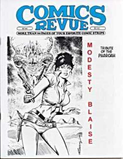 Comics Revue 144 - Not So Modest - Alien Head - Pharoah Fox - Blaising Tribute - Revue
