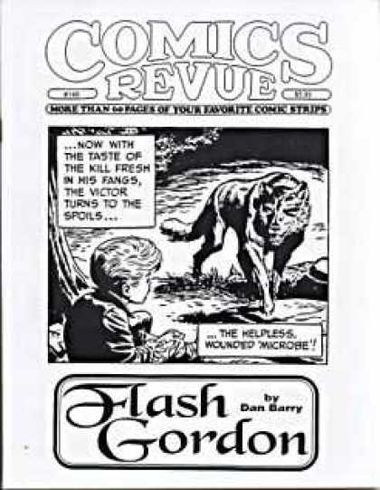 Comics Revue 146 - Flash Gordon - Black U0026 White - Wolf - Boy - Dan Barry