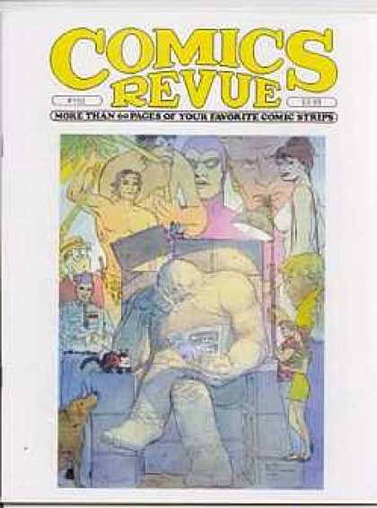 Comics Revue 150 - Yellow Hat - Ape - Mask - Black Hair - Dog
