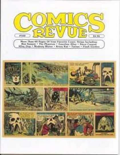 Comics Revue 162 - Skull Kindgom - Jungle Swamps - Classic - Avenging Dawn - Hollow Pass
