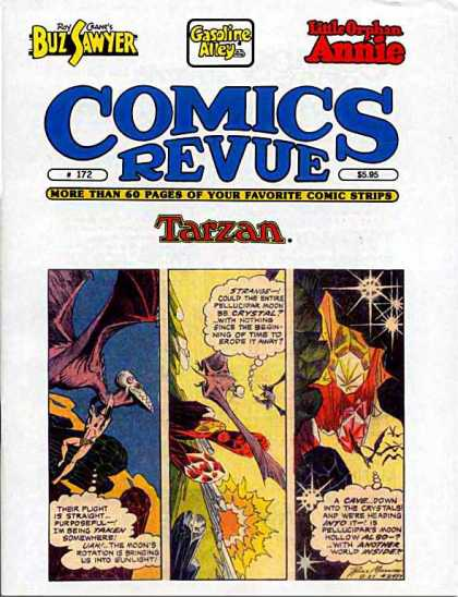 Comics Revue 172 - Dinosaur - Stars - Little Orphan Annie - Jewels - Cave