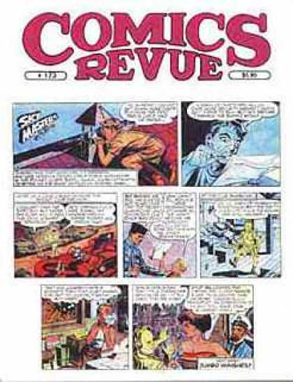 Comics Revue 173 - Comic - Hiding - Surprise - Letter - Military