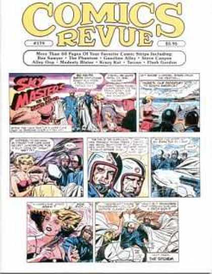 Comics Revue 179 - Sky Masters - Blonde Woman - Sea - Guns - Helmets