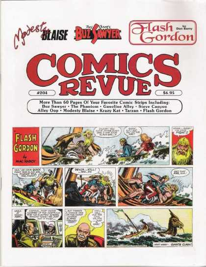 Comics Revue 204 - Blaise - Buz Sawyer - Flash Gordon - Favorite Comics - Mac Raboy