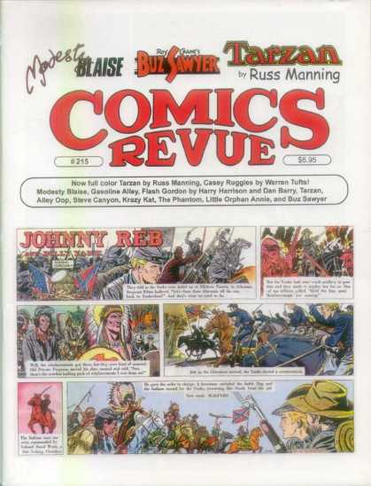 Comics Revue 215 - Indians - Civil War - War - Peace Fighters - Land Scouts