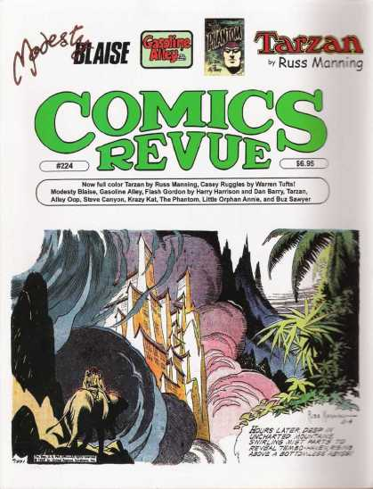 Comics Revue 224 - Tarzan - Hours Later - Modest - Blaise - Gasoline Alley