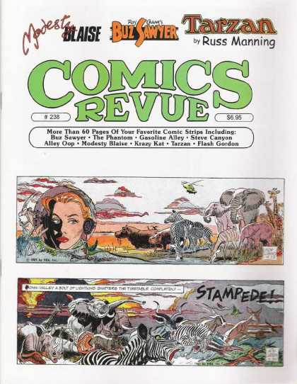 Comics Revue 238 - Blaise - Tarzan - Buz Sawyer - Ruus Manning - The Phantom