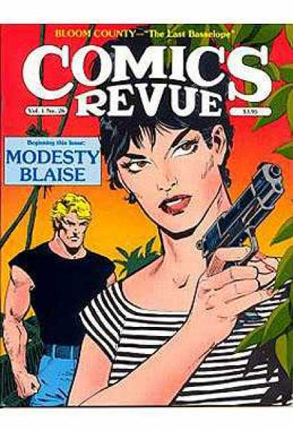 Comics Revue 26 - Death And Beauty - Tropical Adventure - Lady Gun - Dont Forget Me - Anger