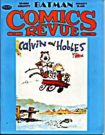 Comics Revue 42 - Calvin And Hobbes - Jumper - Crazy Cat - Swimming Cat - Cat And Its Bike