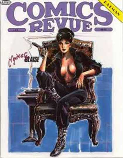 Comics Revue 44 - Batman - Blaise - Modest - Woman - Chair
