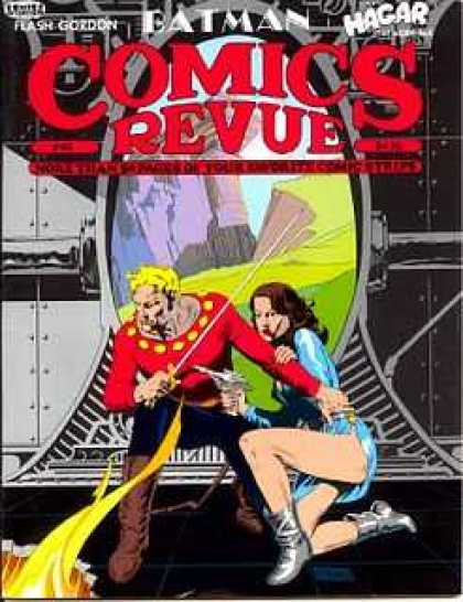 Comics Revue 46 - Batman - Hagar - Flash Gordon - Man - Woman