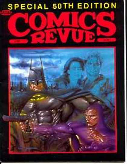 Comics Revue 50 - 50th Edition - Gun - Batman - Special Edition - Clouds