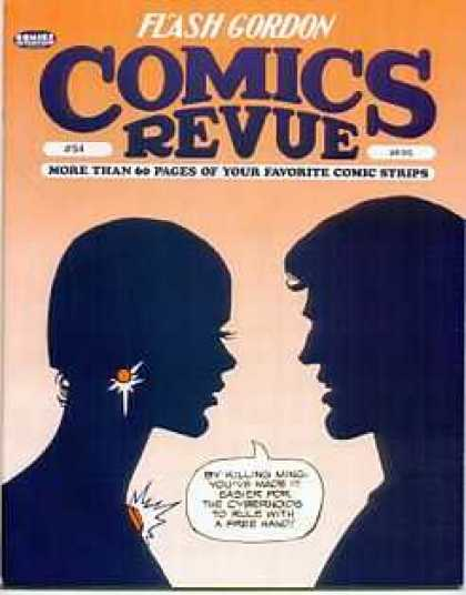 Comics Revue 54 - Earrings - Lovers - Silhouette - Necklace - Close Up