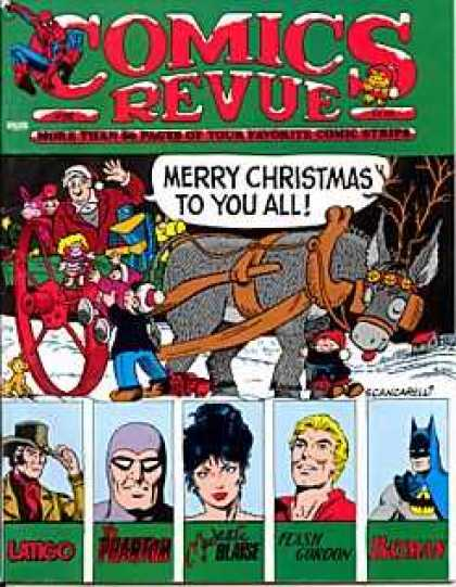 Comics Revue 56 - Christmas - Donkey - Kids - Sleigh - Batman