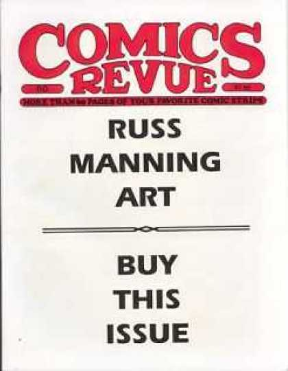 Comics Revue 80 - Russ Manning - Art - Buy This Issue - Comic - White