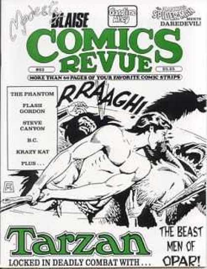 Comics Revue 83 - Blaise - The Phantom - Flash Gordon - Steve Canyon - Krazy Kat