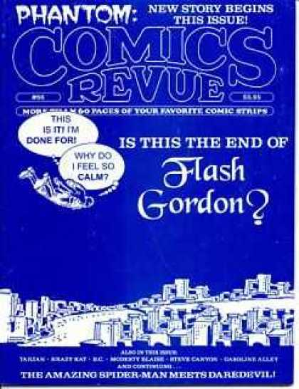 Comics Revue 86 - Flash Gordon - The End - Blue - Above City - Phantom