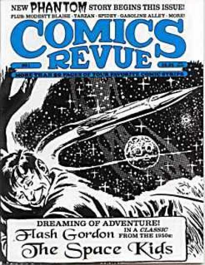Comics Revue 91 - Sky - Rocker - Phantom - Man - Moon