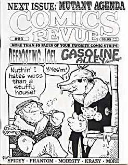 Comics Revue 95 - Man - Cloth - Hat - Drunk - Smoke