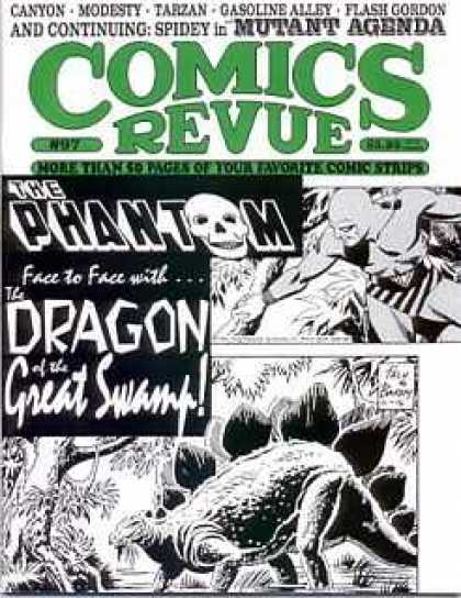 Comics Revue 97 - The Phantom - The Dragon - Great Swamp - Canyon - Modesty