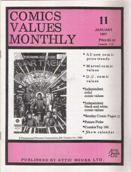Comics Values Monthly 11