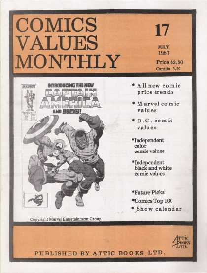 Comics Values Monthly 17