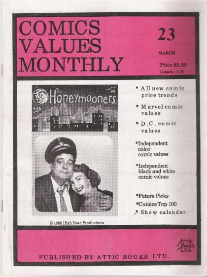 Comics Values Monthly 23