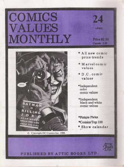 Comics Values Monthly 24
