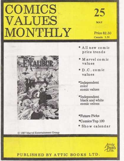 Comics Values Monthly 25