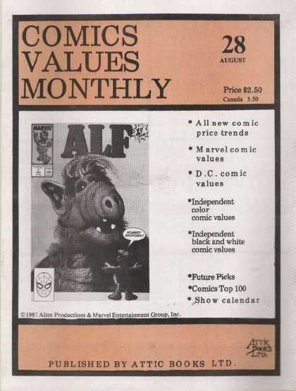 Comics Values Monthly 28