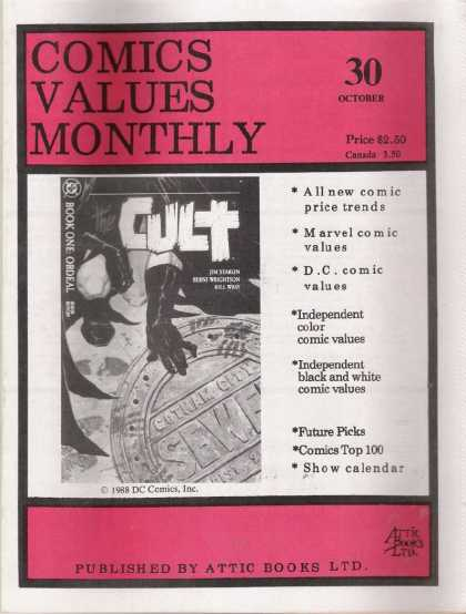 Comics Values Monthly 30