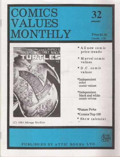Comics Values Monthly 32