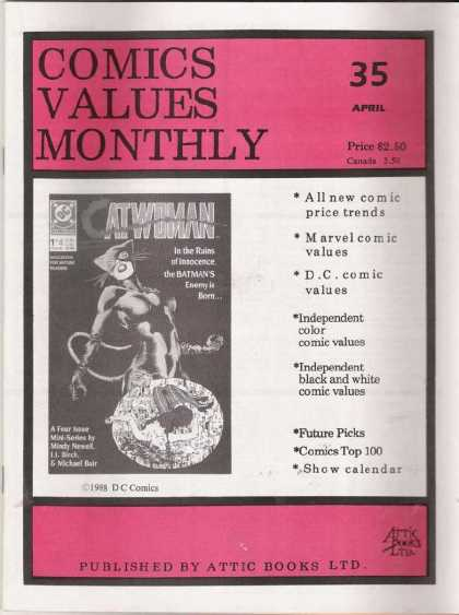 Comics Values Monthly 35