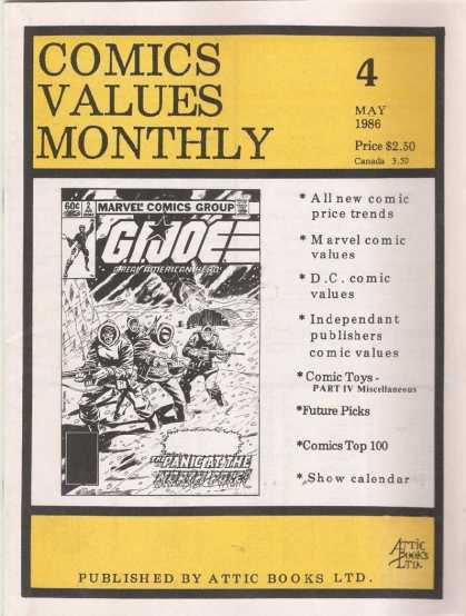 Comics Values Monthly 4