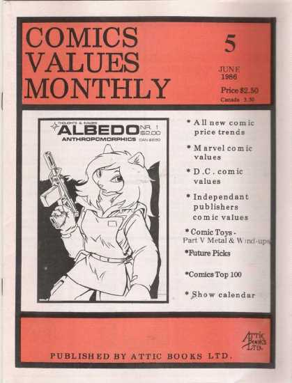 Comics Values Monthly 5