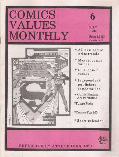 Comics Values Monthly 6