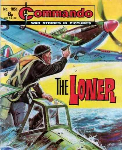 Commando 1051 - Airplane - The Loner - Water - Sinking Plane - Gun