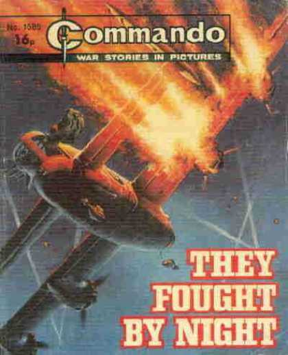 Commando 1585 - Airplane - Crush - Burning - Hit - Engine