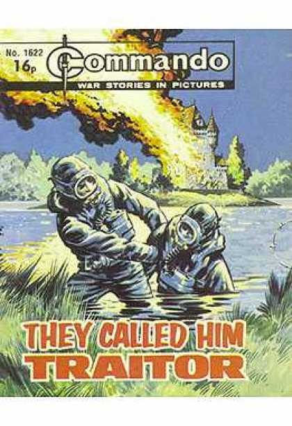 Commando 1622 - War Stories - Fire - Castle - No1622 - They Called Him Traitor
