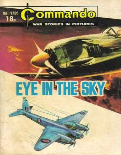 Commando 1726 - French Plane - War Stories - Fighter Planes - Eye In The Sky - Propeller