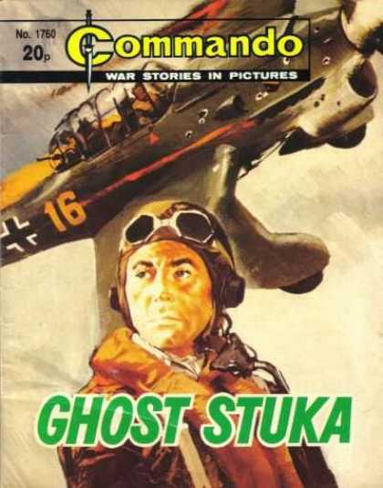 Commando 1760 - War Stories In Picture - Plane - Germans - Clouds - Goggles