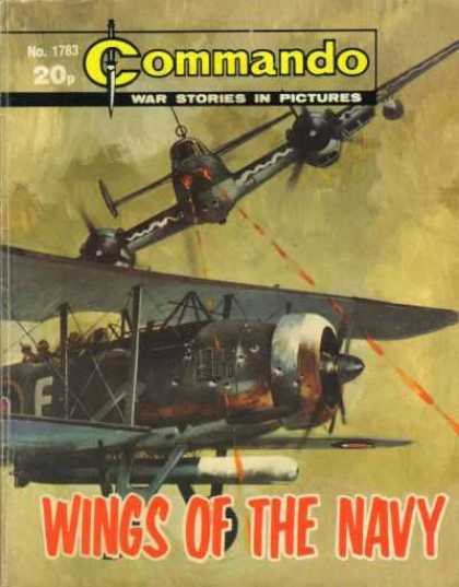Commando 1783 - War Stories In Pictures - Airplane - Shooting - Wins Of The Navy - Sky