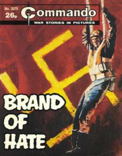 Commando 2075 - War Stories - Brand Of Hate - Swastika - Boots - Dagger