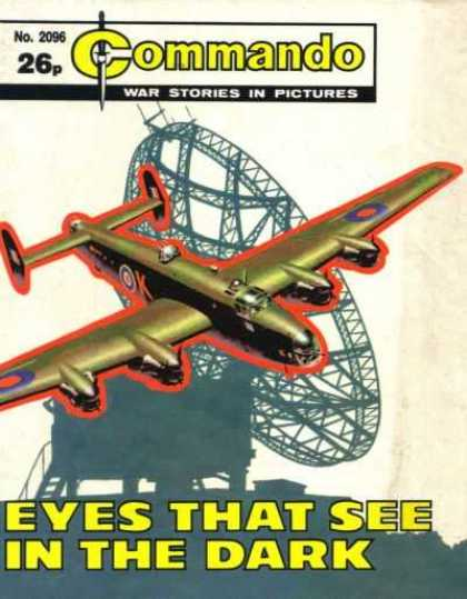 Commando 2096 - War Stories In Pictures - Eyes That See In The Dark - Airplane - Satalite - Bomber
