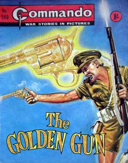 Commando 249 - Golden Gun - Soldier - War Stories - World War - Rifle