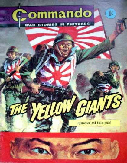 Commando 253 - War Stories - Yellow Giants - Soldiers - Military - Flags