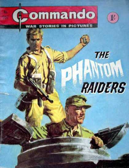 Commando 257 - Gun - War Story - Phantom - Army - Thrill