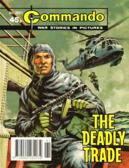 Commando 2621 - War Times - America - Iraq - Automatic Weapons - Dangerous Jobs