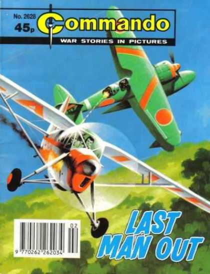 Commando 2628 - 2628 - Commando - War Stories In Pictures - Green Airplane - Last Man Out